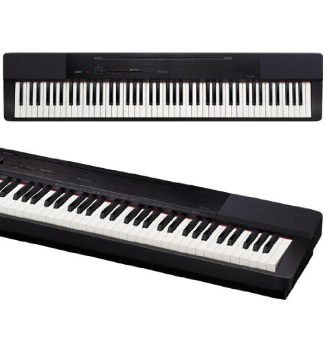 Casio Privia Px-150 Highly Portable 88-Key Tri-Sensor Hammer Action Keyboard With Powerful Piano Sound Digital Piano