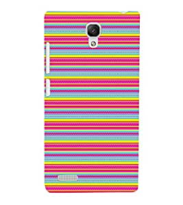 EPICCASE feeling colorful Mobile Back Case Cover For Xiaomi Redmi Note 4G (Designer Case)
