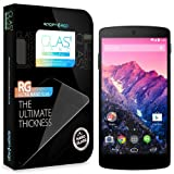 【国内正規品】Spigen Google Nexus5 シュタインハイル GLAS ナノ スリム シリーズ 【強化ガラス液晶保護フィルム】 (Glas.t [NANO SLIM]【SGP10666】)