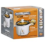 Proctor-Silex Rice Cooker, Durable, 8 Cup