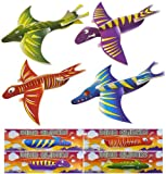 12x Dinosaur Gliders (4 Assorted Designs)