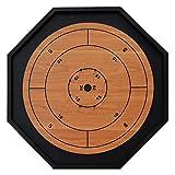 The Crokinole King - Traditional Size Crokinole Board Game Set (Tamaño: Traditional Size)