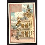 Ansichtskarte KÖLN -Rathaus in Koeln- Künstlerkarte von FRANZ HEIN - ungelaufen - um 1900 - Farbige Lithokarte...