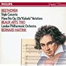 Beethoven: Triple Concerto/Piano Trio No.11 'Kakadu' Variations