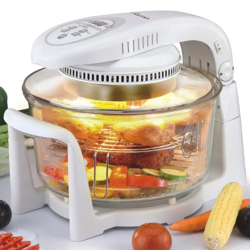 Cooking In Countertop Convection Oven : features low fat cooking allows the user to cook without excess fat or ...