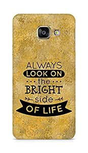 Amez Always look on the Bright Side of Life Back Cover For Samsung Galaxy A3 2016