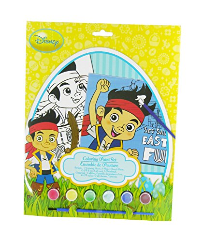 Jake and the Neverland Pirates, Set Sail for Easter Fun Easter Coloring Paint Set - 1