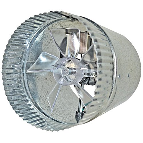 "Suncourt 6"" Round In-Line Air Duct Booster Fan 115 Volt # T9-Mcm6"