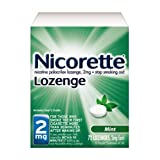 Nicorette Lozenge Mint, 2 mg, 72-Count ~ Commit