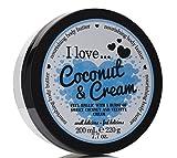 I Love... Coconut & Cream Nourishing Body Butter 200ml