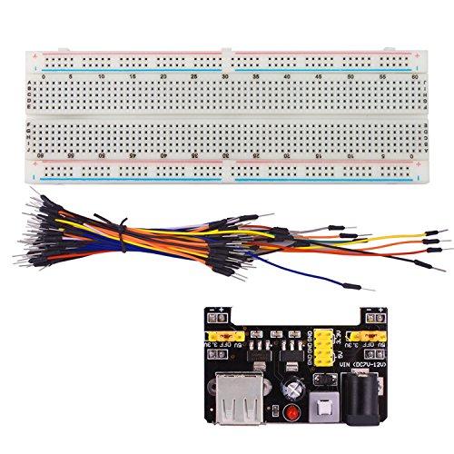 smraza-mb102-830-tie-points-solderless-breadboard-33v-5v-power-supply-module-65pcs-breadboard-jumper