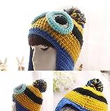 ミニオンズコスプレニット帽衣装用大人怪盗グルーのミニオン危機一発ミニオンコスチュームコスプレ衣装仮装なりきりコスチュームコスプレハロウィンパーティー
