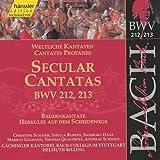 Edition Bachakademie Vol. 67 (Weltliche Kantaten BWV 212-213)