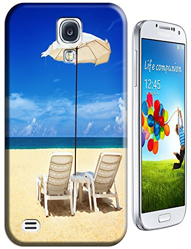 Cell Phone Case Beach Design Beautiful Sunshine Water Trees For Samsung Galaxy S4 I9500 No.6 front-54902