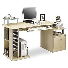 SixBros. Office - Scrivania ufficio porta pc colore acero - S-202A/87