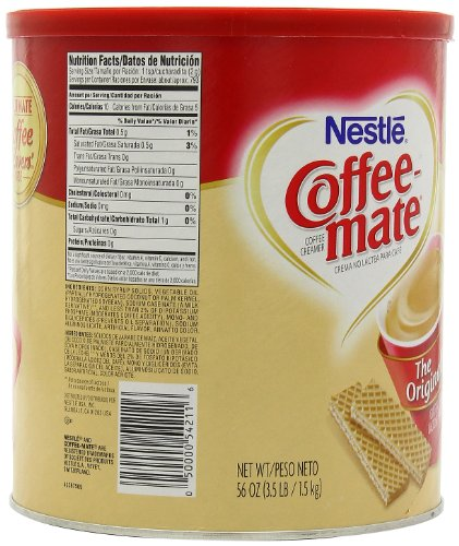 Coffee Mate Coffee Maker Not Working : Nestle Coffee-mate Coffee Creamer 56oz. canister Food, Beverages Tobacco Beverages