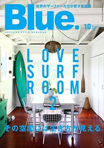 Blue. 2017年10月号 大きい表紙画像