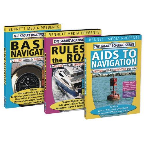 Bennett Marine Video - Bennett Dvd - Smart Boating Navigation Dvd Set