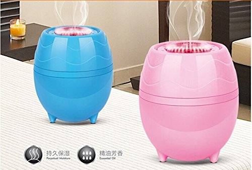 Flower Shape Mini USB Cool Mist Humidifier - 1