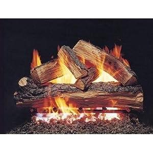 Peterson Gas Logs 18-inch Split Oak Logs Only No Burner by Peterson Real Fyre
