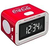BigBen RR30 Coca Cola Radio Alarm Clock - Classic