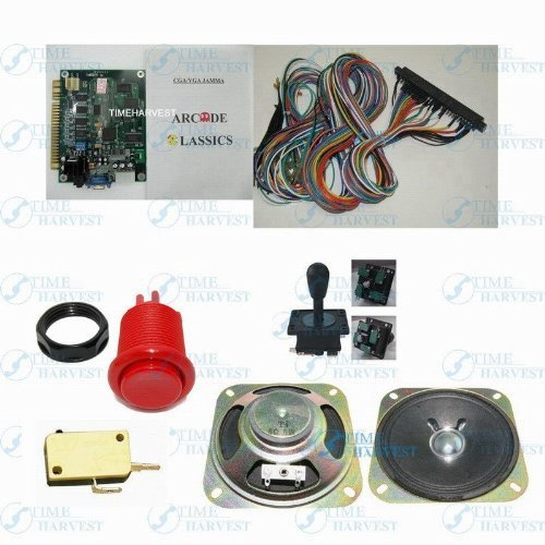1-set-arcade-machine-parts-and-PCB-include-1Pcs-60-in-1-classic-game-board-by-THT