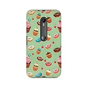 TAZindia Printed Hard Back Case Cover For Moto X Force