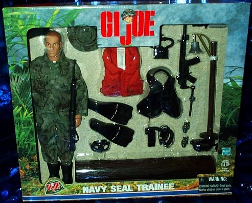 Buy Low Price Hasbro G.I. Joe Navy Seal Trainee Set 12″ Action Figure (B000WESIMQ)