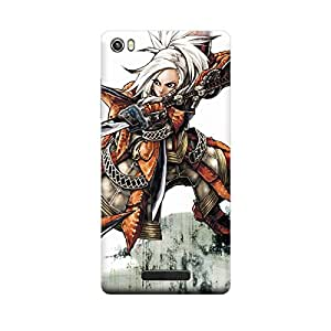 iCover Premium Printed Mobile Back Case Cover With Full protection For Lava Iris X8 (Designer Case)
