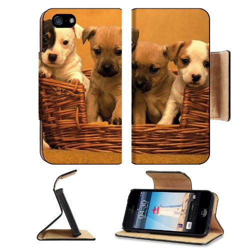 Pitbull Dogs Pets Puppy Animals Apple Iphone 5 / 5S Flip Cover Case With Card Holder Customized Made To Order Support Ready Premium Deluxe Pu Leather 5 3/16 Inch (132Mm) X 2 11/16 Inch (68Mm) X 9/16 Inch (14Mm) Luxlady Iphone 5 Professional Cases Touch Ac front-1051549