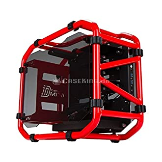 IN WIN PCケースD-Frame mini Red Mini-ITX IW-CA03MINI/R