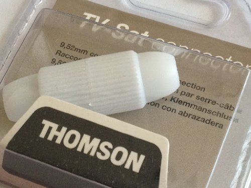 Antenne und SAT Thomson TV-SAT Verbinder Koax Klemm-Verbinder
