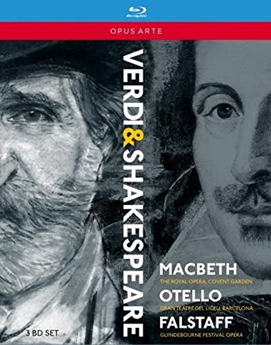 Verdi: Shakespeare-Opern (MacBeth, Otello, Falstaff) [3 Blu-rays]