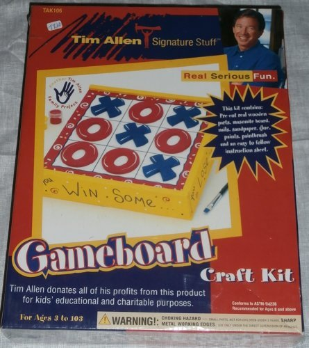 Tim Allen Signature Stuff - Gameboard Craft Kit
