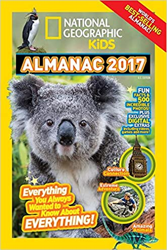 National Geographic Kids Almanac 2017 written by National Geographic Kids