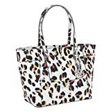 bb9e865390 ... UPC 885935872249 product image for GUESS Delaney Leopard-Print Small  Classic Tote | upcitemdb.