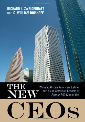 The New Ceos: Women, African American, Latino, And Asian American Leaders Of Fortune 500 Companies front-700731