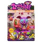 1 X Zoobles Mamas and Zooblings, Kangaroo and Baby- Penelhoppy #386 & Pillow by Spin Master