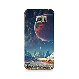 TAZindia Designer Printed Hard Back Case Mobile Cover For Samsung Galaxy S6 Edge