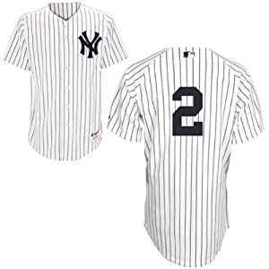 Buy Derek Jeter New York Yankees Home Authentic Jersey by Majestic by Majestic