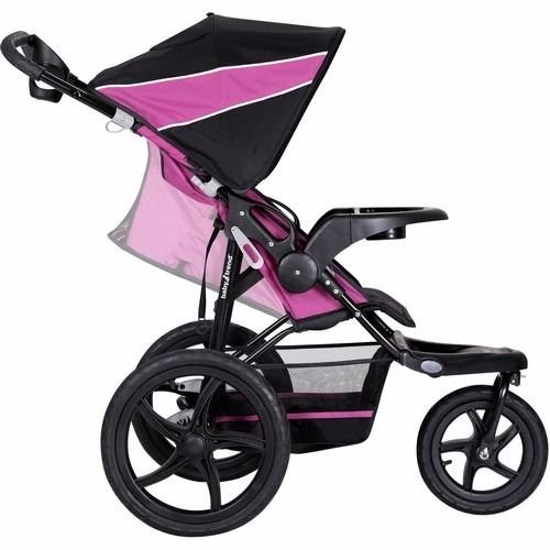 3-Wheel-All-Terrain-Jogger-Stroller-Baby-Infant-Lightweight-Reclining-Cup-Holder