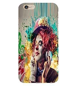 STYLISH GIRL Designer Back Case Cover for Apple Iphone 5