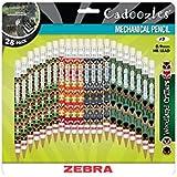 Zebra's Cadoozles #2 Mechanical Pencil 0.9mm Assorted Barrel Colors 28pk (51291)