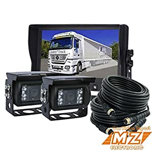 Amazon Com Veise 9 Quot Rear View Back Up Camera System