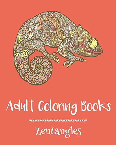 Adult Coloring Books: Zentangles