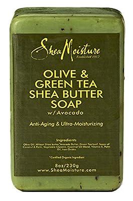 Shea Moisture Organic Olive & Green Tea Shea Butter Soap