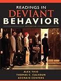 Readings in Deviant Behavior (6th Edition)