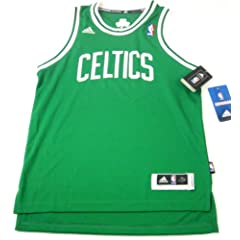 Buy Boston Celtics NBA Adidas Youth Size Swingman Blank Jersey Sewn Letters by adidas