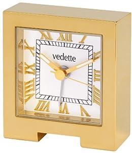 Vedette VR50020 - Reloj despertador analógico de cuarzo unisex de Vedette