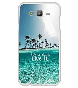 ifasho Designer Phone Back Case Cover Samsung Galaxy J5 (6) 2016 :: Samsung Galaxy J5 2016 J510F :: Samsung Galaxy J5 2016 J510Fn J510G J510Y J510M :: Samsung Galaxy J5 Duos 2016 ( Sea Food Colorful Pattern Design )